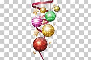 Christmas Ornament Balls Free PNG