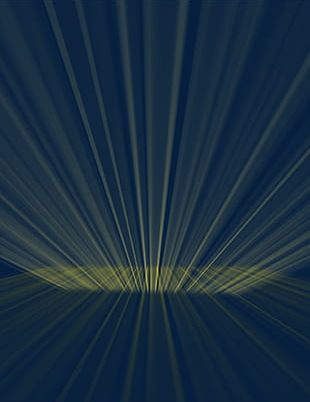Gold Light Effect Material PNG