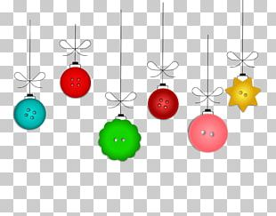 Christmas Button PNG