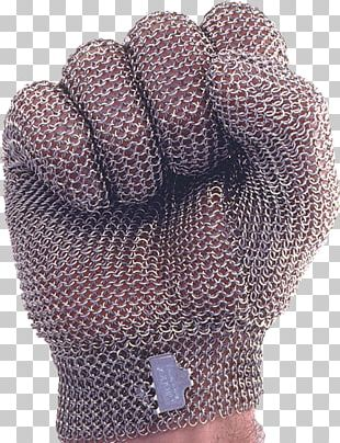 Cut-resistant Gloves Stainless Steel Mesh Glove Hand PNG