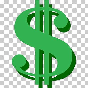 Dollar Sign United States Dollar Currency Symbol Green Dot Corporation PNG