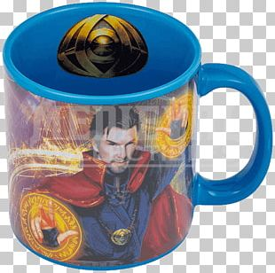 Coffee Cup Doctor Strange Mug Spider-Man Eye Of Agamotto PNG