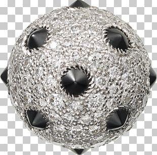 Cufflink Colored Gold Diamond Brilliant PNG