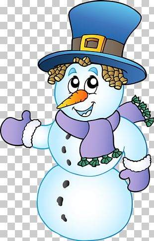 Snowman Cartoon Stock Photography PNG