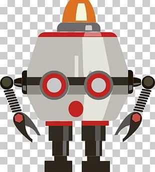 Robot Euclidean Diagram Illustration PNG