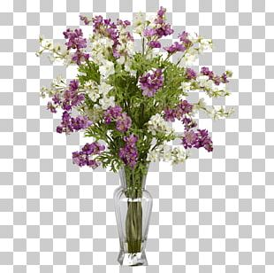 Artificial Flower Vase Floral Design PNG