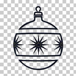 Christmas Ornament Black And White Christmas Tree PNG