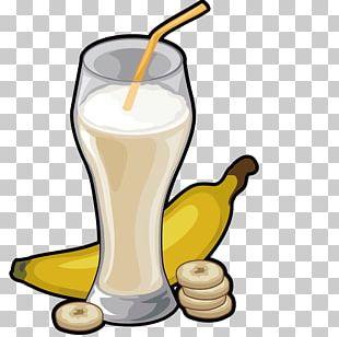 Milkshake Banana Pudding Pisang Goreng Cream PNG