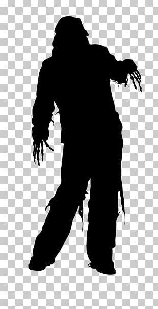 Silhouette Halloween Film Series Drawing PNG