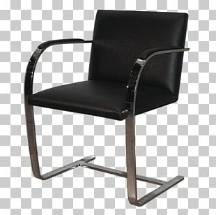 Brno Chair Villa Tugendhat Knoll Cantilever Chair PNG