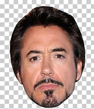 Robert Downey Jr. Iron Man Mask Face Celebrity PNG
