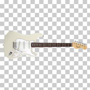 Electric Guitar Fender Stratocaster Squier Fender Jeff Beck Stratocaster PNG