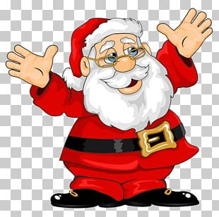 Santa Claus Christmas Open Portable Network Graphics PNG