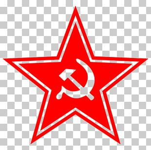 Communist Party Of The Soviet Union Communism Hammer And Sickle Red Star PNG