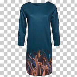 T-shirt Dress Blue Sweater Clothing PNG
