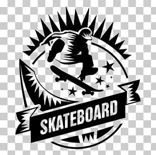 Skateboarding Logo Sticker Sport PNG