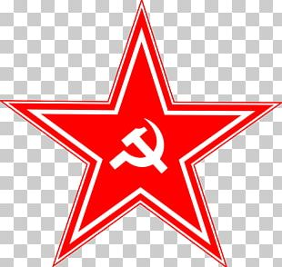 Soviet Union Hammer And Sickle Red Star Communist Symbolism Russian Revolution PNG