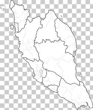 Peninsular Malaysia Federal Territories Blank Map Map PNG