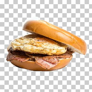 Buffalo Burger Breakfast Scrambled Eggs Bacon Cheeseburger PNG