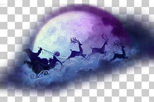 Santa Claus's Reindeer Christmas Eve NORAD Tracks Santa PNG