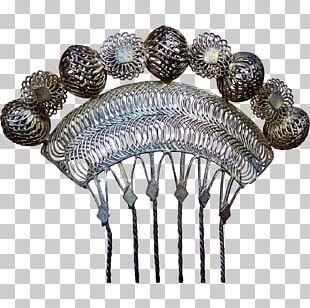 Comb Jewellery Peineta Filigree Vintage Clothing PNG