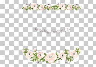 Wedding Invitation Floral Design Flower Wreath PNG