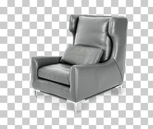 Wing Chair Couch Furniture Club Chair PNG