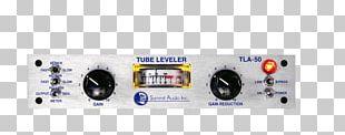 Dynamic Range Compression Vacuum Tube LA-2A Leveling Amplifier Audio Power Amplifier PNG