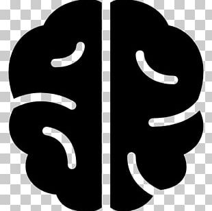 Human Brain Computer Icons Cognitive Training PNG