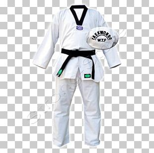 Dobok World Taekwondo Martial Arts Uniform PNG