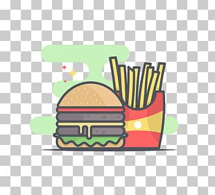 Hamburger French Fries Fast Food Meatloaf McDonalds Big Mac PNG