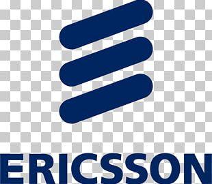 Ericsson Mobile Phones Logo Telecommunication 5G PNG