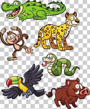 Jungle Animal Snake Jaguar PNG