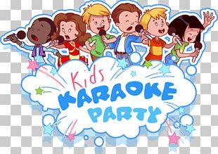 Microphone Child Cartoon Illustration PNG