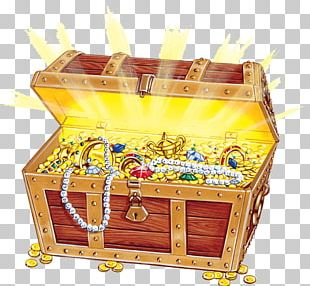 Open Treasure Chest PNG