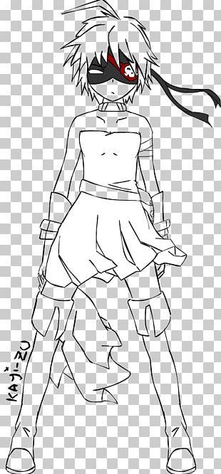 Woman Line Art Inker White Cartoon PNG