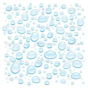 Water Drop White Blue PNG