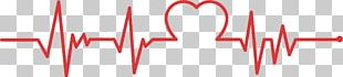Chart Heart Rate Electrocardiography Red PNG