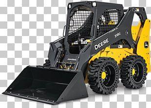 John Deere Skid-steer Loader Architectural Engineering Heavy Machinery PNG