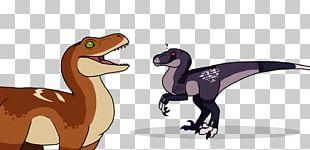 Velociraptor Cartoon Character Animal Fiction PNG
