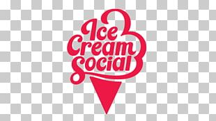 Logo Unbreakable Ice Cream Love Font PNG