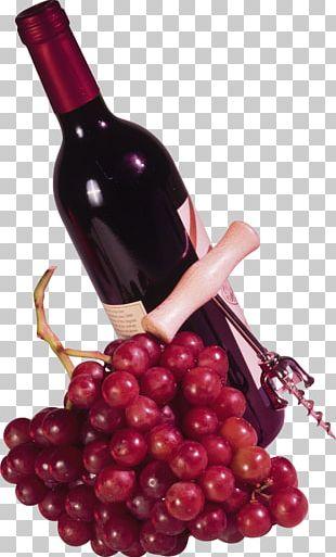 Red Wine Beer Bottle PNG