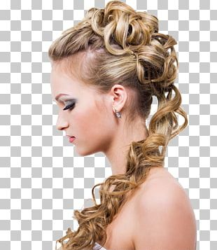 Hair Iron Hairstyle Long Hair Updo PNG