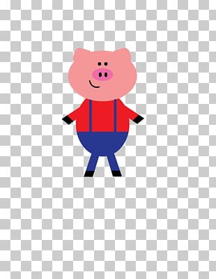 Domestic Pig The Three Little Pigs PNG