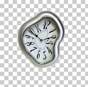 The Persistence Of Memory Salvador Dalxed Museum Mantel Clock Surrealism PNG