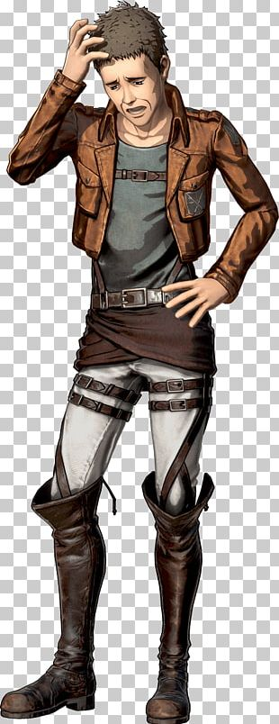 Attack On Titan 2 A.O.T.: Wings Of Freedom Character Daz Dillinger PNG