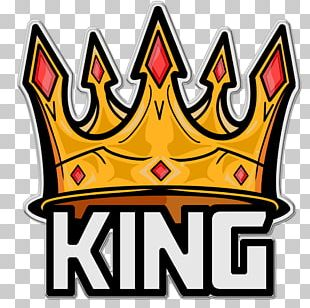 Logo King Sticker Paper PNG