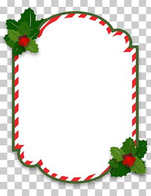 Christmas Ornament Frame PNG