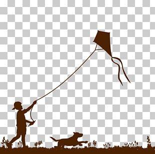 Kite Child PNG