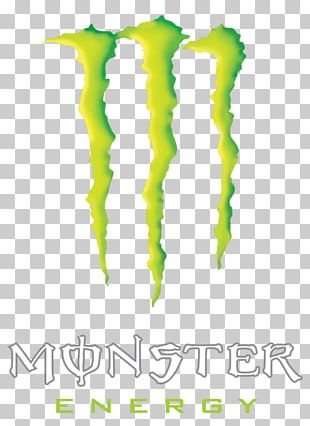 Monster Energy Energy Drink Logo Stencil PNG